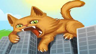 Котик Едун и съедобная планета, мультик игра Детский летсплей, Tasty Planet #8