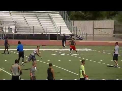 San Jose State Football Camp.( QB Tyrone Williams jr) 6/24/14