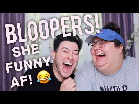 BLOOPERS WITH CHRISTINE SYDELKO!