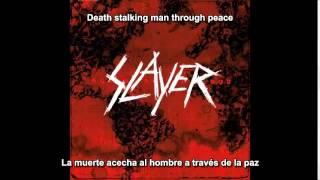 Slayer - Human Strain (World Painted Blood Album) (Subtitulos Español)