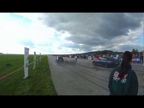 VW Beetle TwinTDI 360PS+ Nitro vs Nissan GT-R 2012 , Hoskovice 28.9.2013