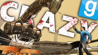 GIANT KILLER SCORPIONS?!?! | Garry's Mod Mechanical Monsters