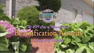 The 2019 Miamisburg City Beautiful Awards