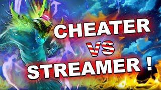 Streamer VS Cheater - Morphling sees the Sunstrikes!