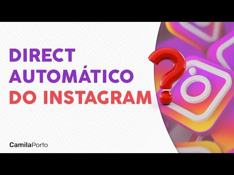 Direct Do Instagram Nao Use Mensagens Automaticas Youtube