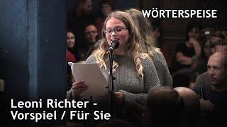 Leoni Richter – Vorspiel / Für Sie