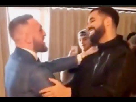 Drake PULLS UP on Conor McGregor After Disrespecting Floyd Mayweather At Toronto Press Conference!