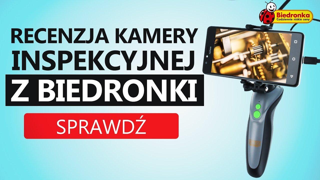 Kamera Inspekcyjna od Niteo z Biedronki – Tools EC-1
