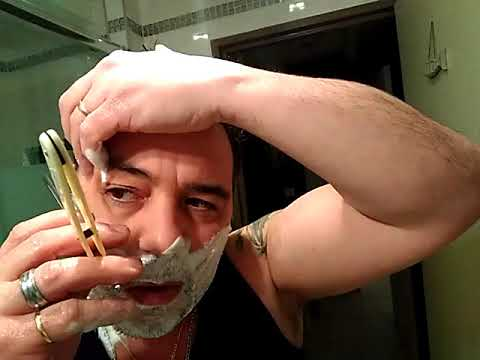 Rasage au rasoir