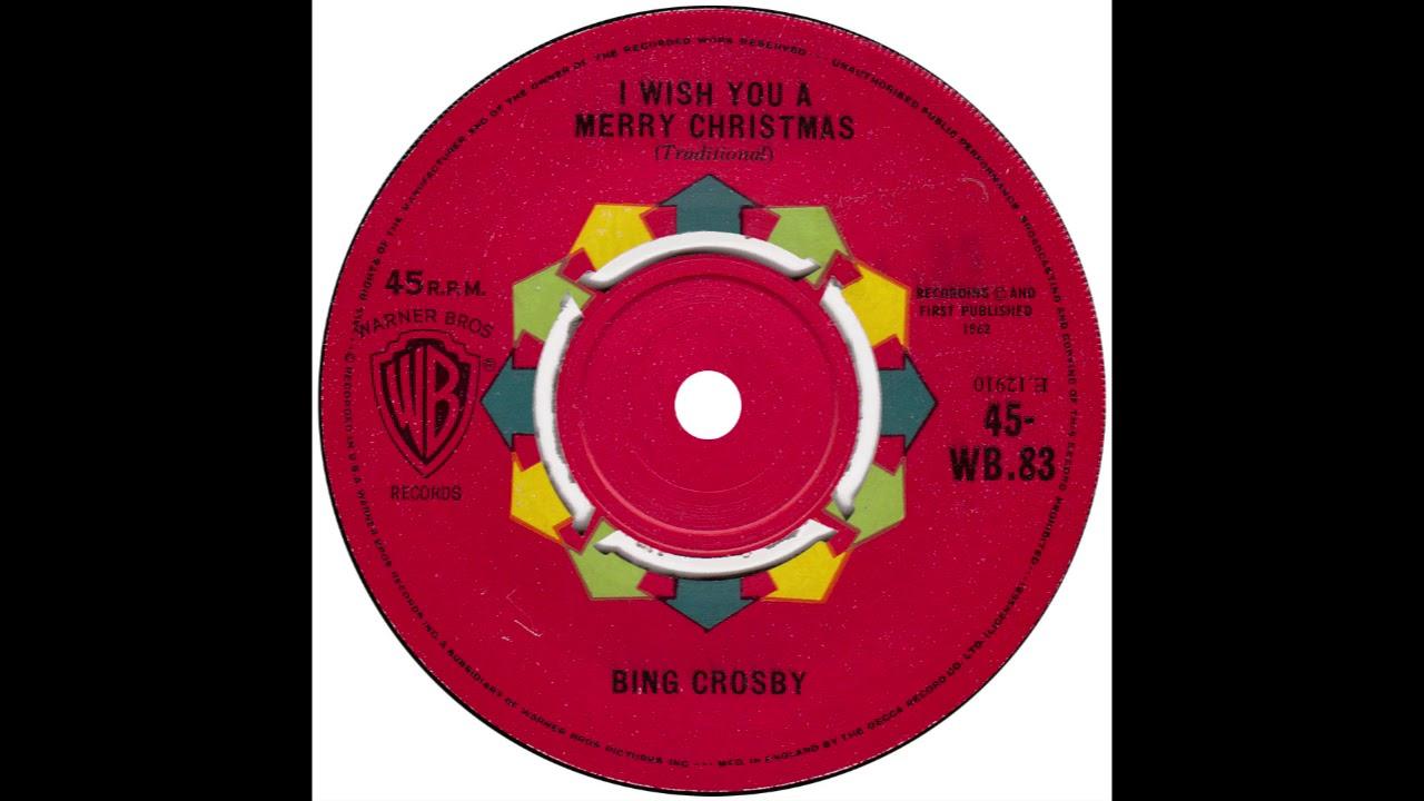 bing crosby i wish you a merry christmas uk warners 1962 - Bing Crosby I Wish You A Merry Christmas