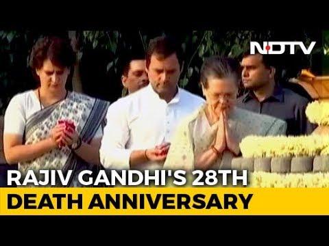 PM Modi Pays Tribute To Rajiv Gandhi On His Death Anniversary