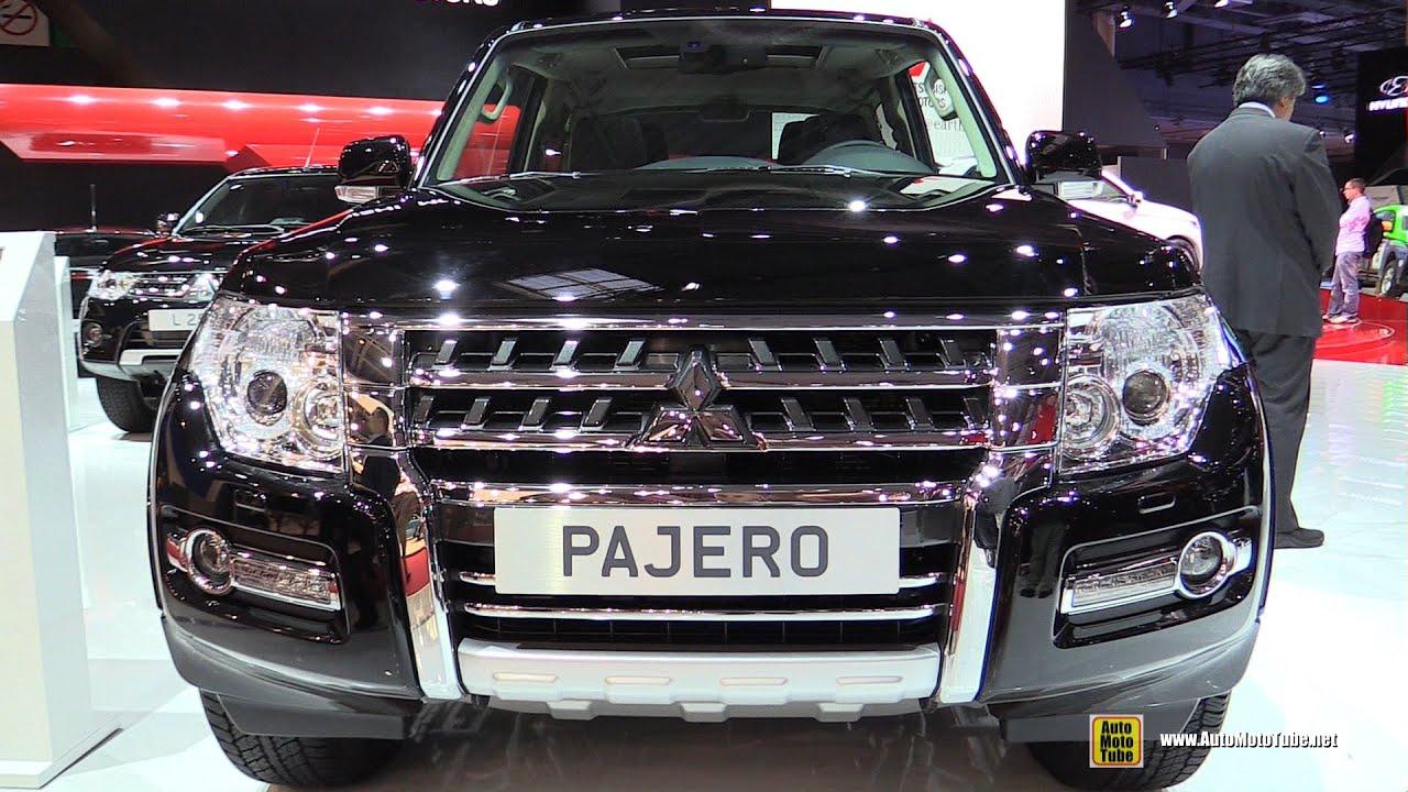 2015 mitsubishi pajero instyle 3 door 3 2l diesel exterior interior walkaround paris auto show youtube