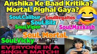 😳MortaL And Soul Vicky Accidently In One Match! | Anshika Ke Baad Kritika?😂 MortaL Pighal Gaya?