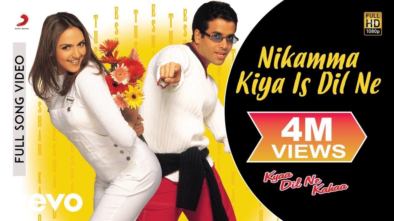 Download Nikamma Kiya Is Dil Ne Full Video - Kyaa Dil Ne Kahaa|Tusshar, Esha Deol|Shaan, Sanjivani