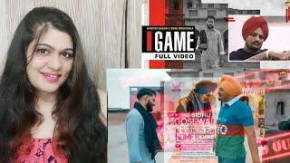 Game Song Reaction   Shooter Kahlon ft. Sidhu Moosewala   Smile With Garima