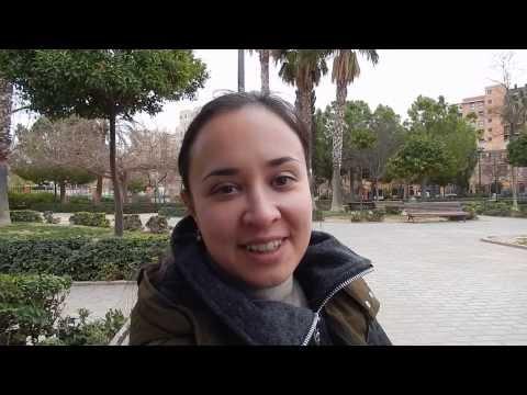 Языковые курсы испанского. Изучение испанского языка в Валенсии. 2014. День 28.