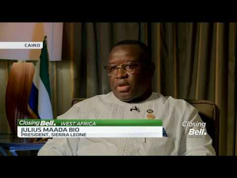 Sierra Leone President Julius Maada Bio talks on AfCFTA, his free education plan and Ebola