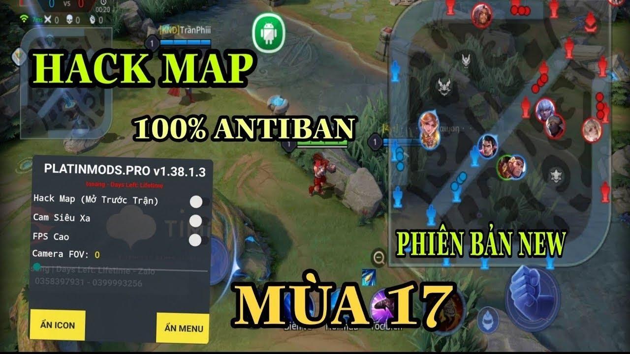 Hack map liên quân 2021 | Hack map troll game | cậu chính vlogs