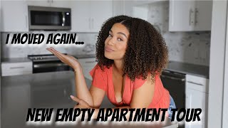 LIFE UPDATE: I MOVED AGAIN | New Empty Apartment Tour | Lyasia in the City