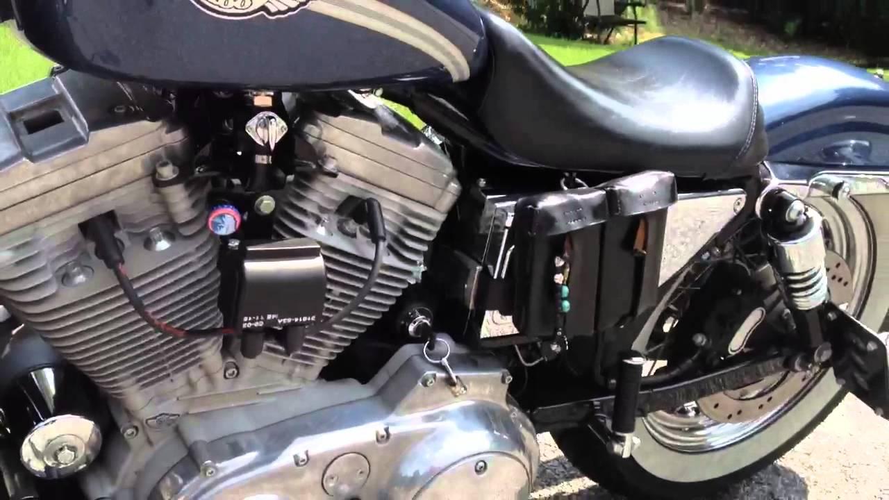 Battery Relocation Wiring Diagram Speaker For Home Theater Harley Coil Kit Screamin' Eagle Sportster Xlh ~ Elsavadorla
