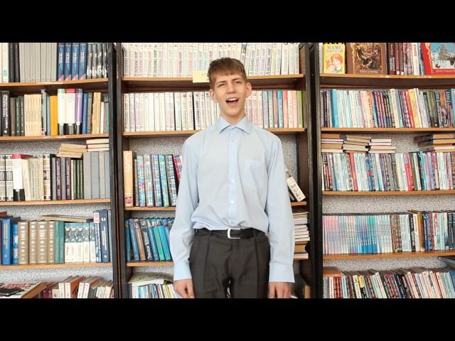 Изображение предпросмотра прочтения – КириллСорокин читает произведение «Славянам (Они кричат, они грозятся…)» Ф.И.Тютчева