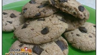 Cookies Con Trocitos De Chocolate   Recetas De Cocina   Cocina De Martina