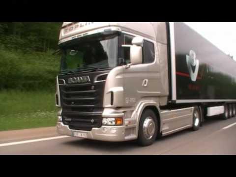Scania V8 R730 - YouTube