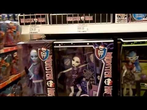 видео: Куклы monster high в Детском мире+мои покупки!