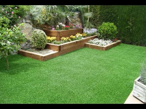 Como hacer un jardin artificial youtube for Como disenar mi jardin