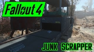 Fallout 4 - How to easily turn junk into raw components!