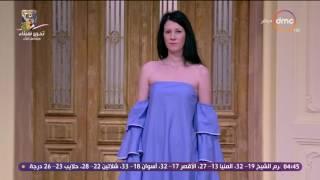 السفيرة عزيزة - fashion show رائع لـ رانيا محرم