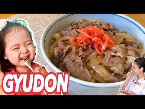 GYUDON/JAPANESE FOOD COOKING
