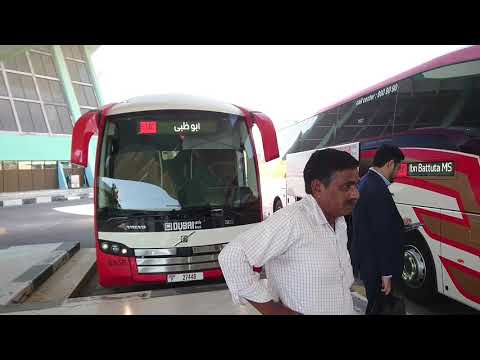 How to go to Dubai from Abu Dhabi by Bus