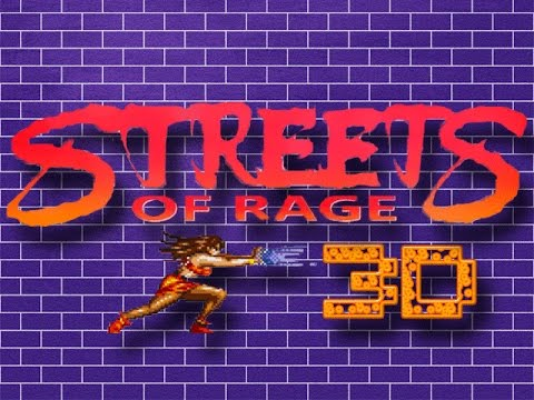 Games We Never Knew: Streets of Rage 3D W/ Prototype gameplay