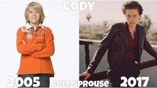 The Suite Life of Zack and Cody Then And Now 2017