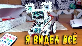 РОБОНЯША СБЕЖАЛА - Электронный Конструктор - Офис Амперки