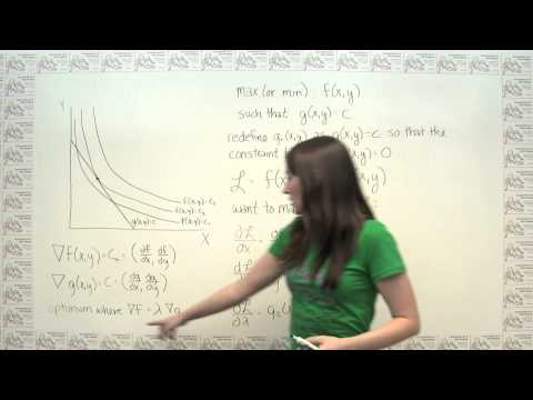 Introduction to the Lagrange Multiplier