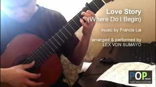 Love Story (Where Do I Begin) - Francis Lai (solo guitar cover)