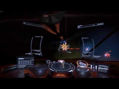 Elite: Dangerous - New Missile Racks against Thargoid with Python