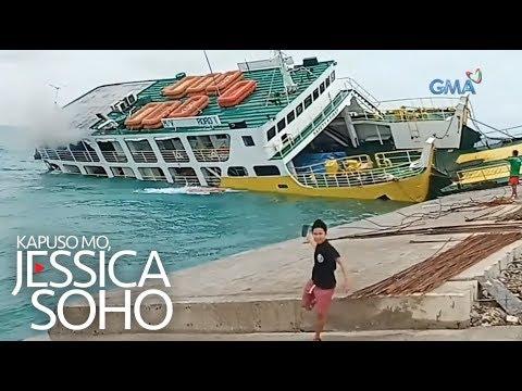 Kapuso Mo, Jessica Soho: Barko, tumagilid sa Cebu!