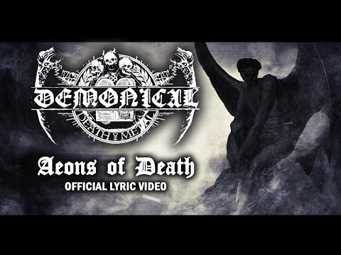 DEMONICAL - Aeons Of Death (Official Lyric Video)