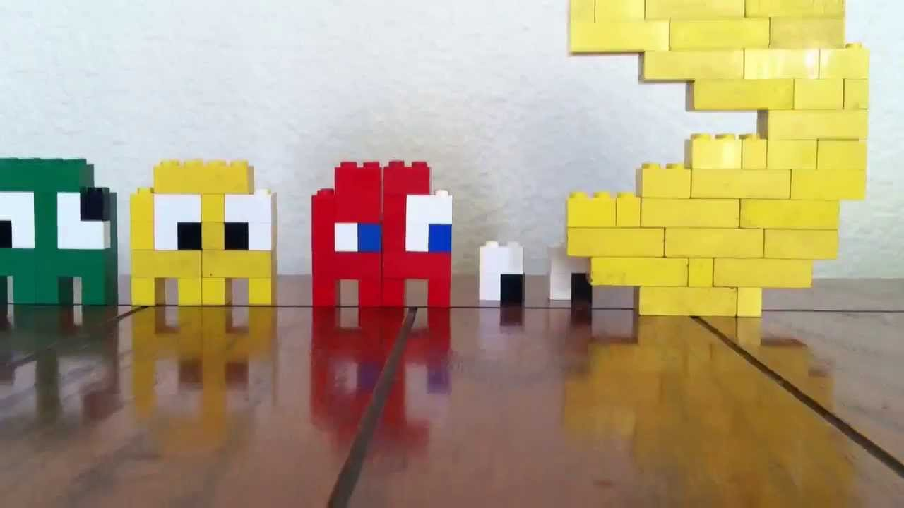 LEGO Pac-Man vs Ghosts - YouTube