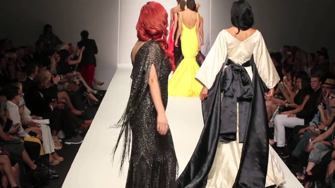 Andre Soriano Designs At Style Fashion Week L A At L A
