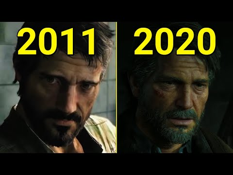 Evolution Of The Last Of Us 2011-2020