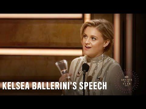 Kelsea Ballerini | 2018 CMT Artists of the Year Acceptance Speech