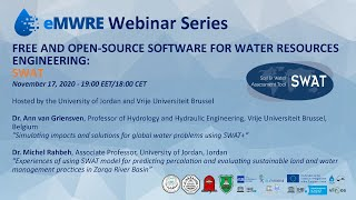 eMWRE Free and Open-Source Software for Water Resources Engineering Webinar Series - SWAT