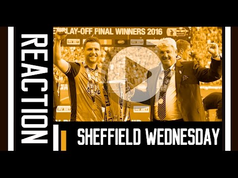The Tigers v Sheffield Wednesday | Reaction With Steve Bruce | 28th May 2016