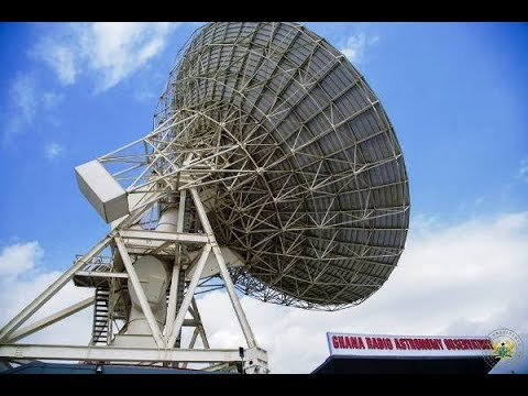 Akufo-Addo inaugurates 1st Radio Astronomy Observatory in We
