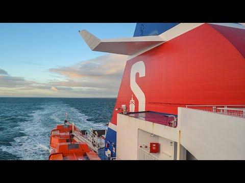 Belfast - Cairnryan Ferry By Stena Line (N. Ireland To Scotland By Boat)