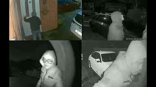The Net Closes In On A Manchester Car Thief CCTV